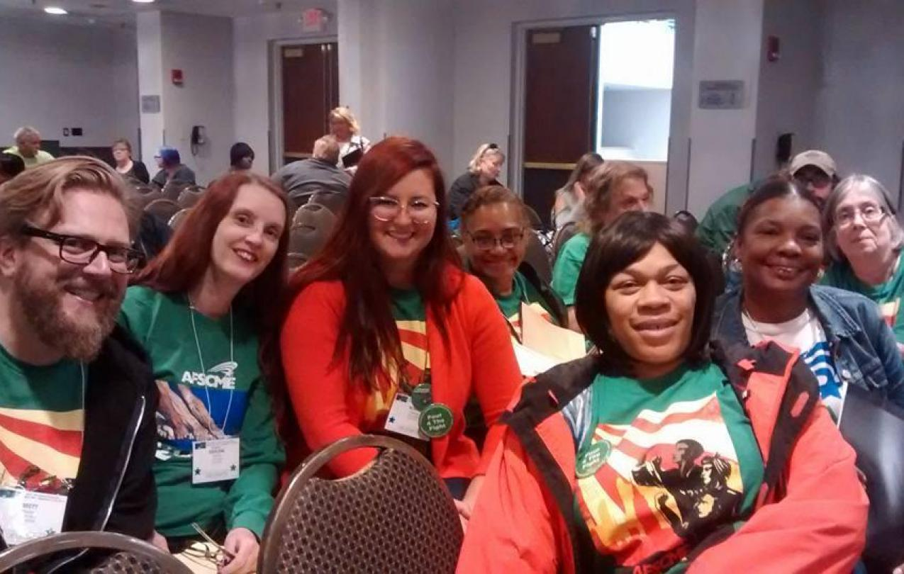 2822 at the 2018 AFSCME Council 5 Convention