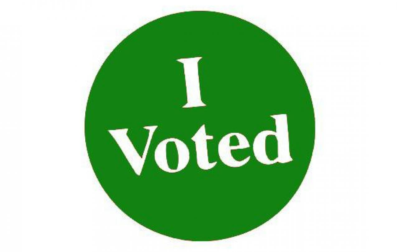green I voted afscme local 2822